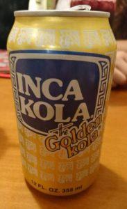 ペルーのコーラ「インカコーラ」