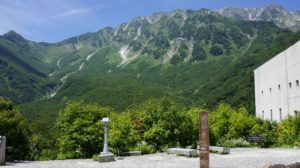 黒部平からの立山連峰