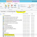 グループポリシーでの画面ロック設定方法(Windows Server 2012)