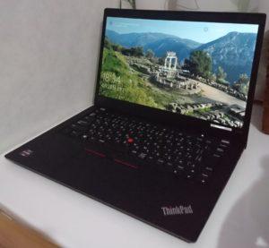 ThinkPad X395 外観